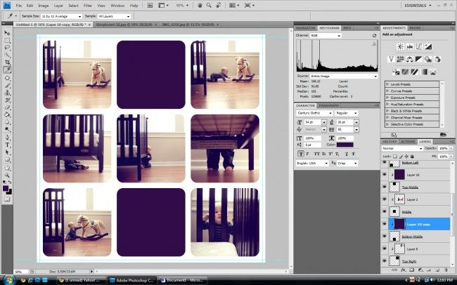 How To Create A Storyboard Tutorial  Storyboard Photoshop And