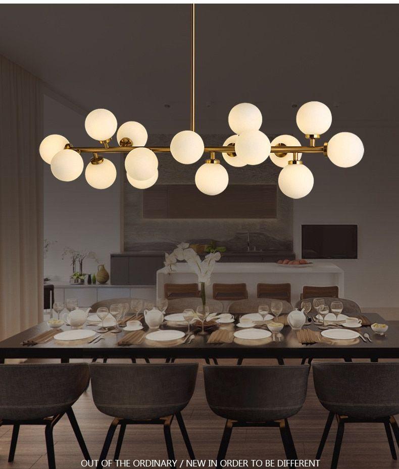 Modern Pendant Lights Led Milk White