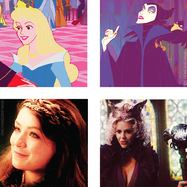 Aurora and Malificent #OUAT