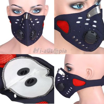 New Neoprene Suv Motorcycle Anti Dust Mask Red Ebay Dust Mask Neoprene Burning Man 2015