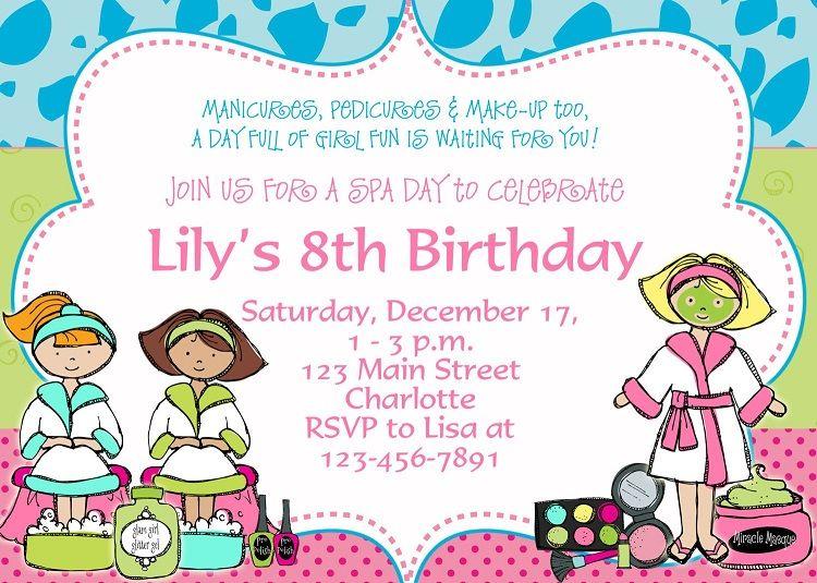 Birthday Party Invitation Template Word Free Invitation Card