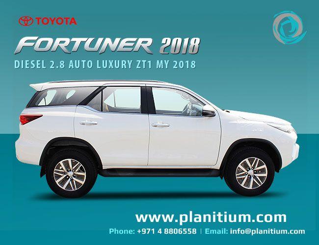 Toyota Fortuner Diesel Luxury 2018 Exporter From Uae Toyota