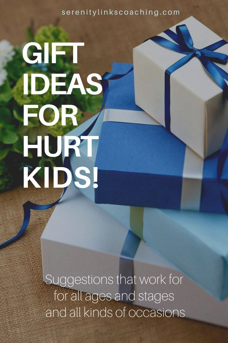 Gift Ideas That Work for Traumatized Kids Finding appropriate gifts for traumatized or attachment disordered children can be tough Gifts coming from others can cause even...