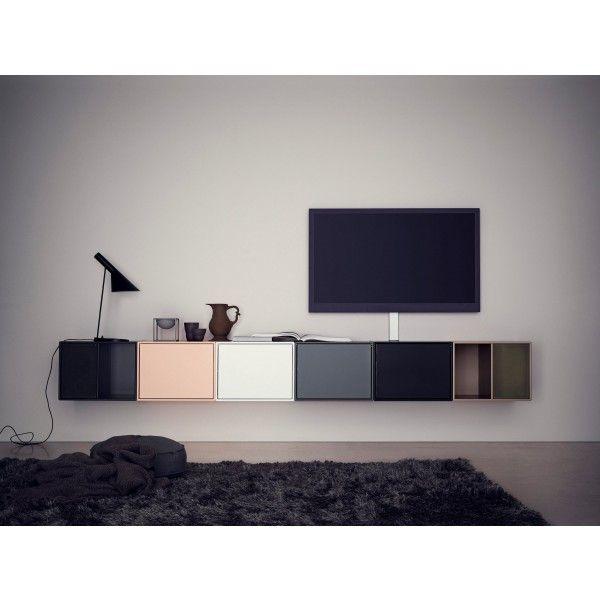 Line wandkast montana tv meubel pinterest woonkamer keuken huiskamer en kasten - Opslag idee lounge ...