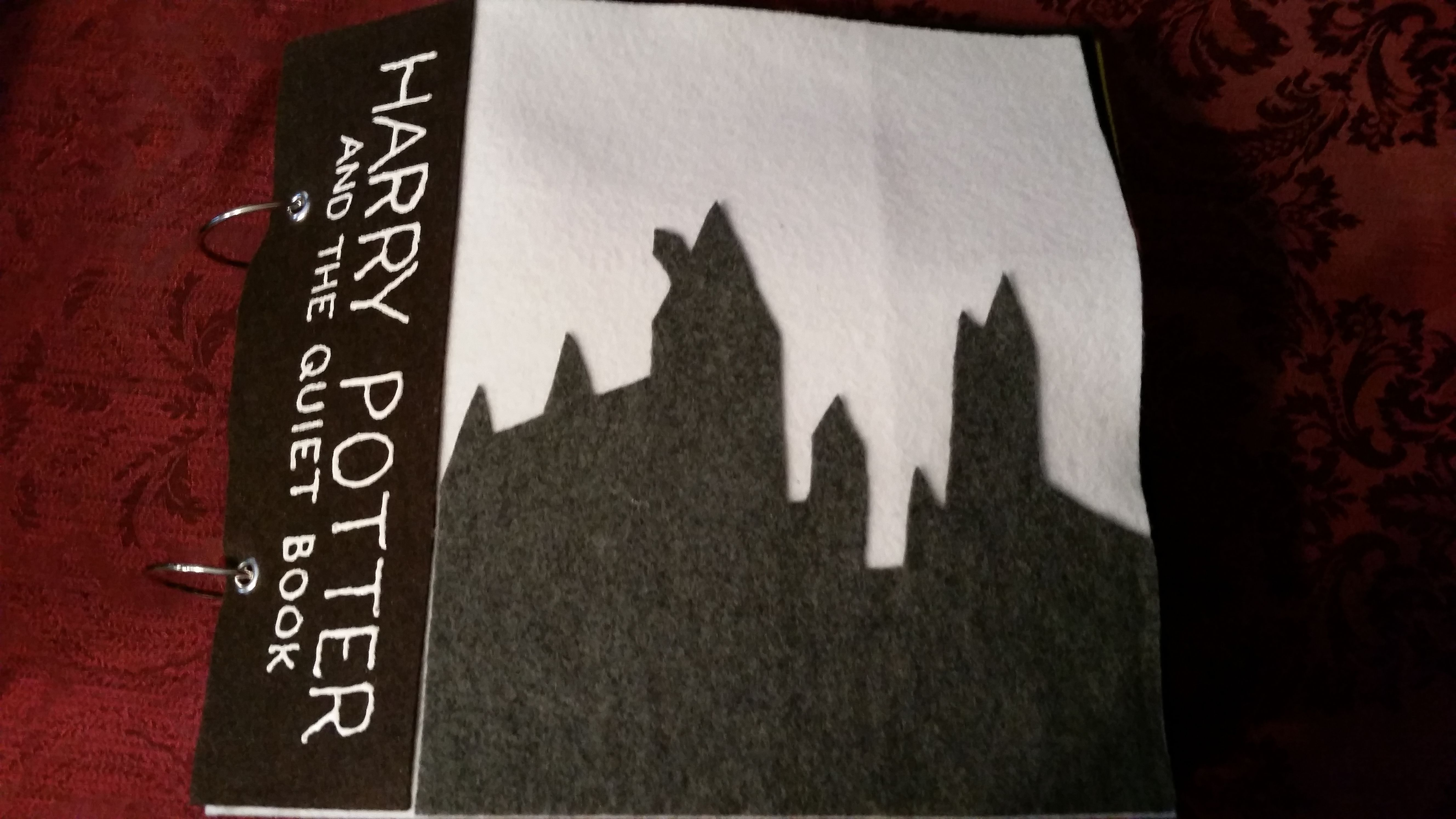 Harry Potter and The Quiet Book - Imgur