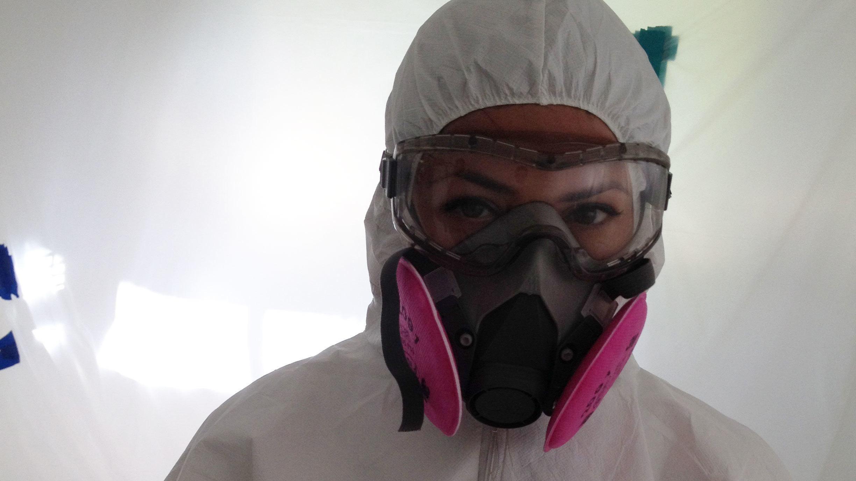 44++ Asbestos respirator