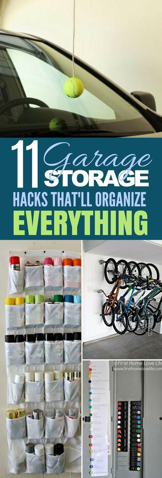 garage hacks 11 ways to organize with diy projects diy on best garage organization and storage hacks ideas start for organizing your garage id=72854