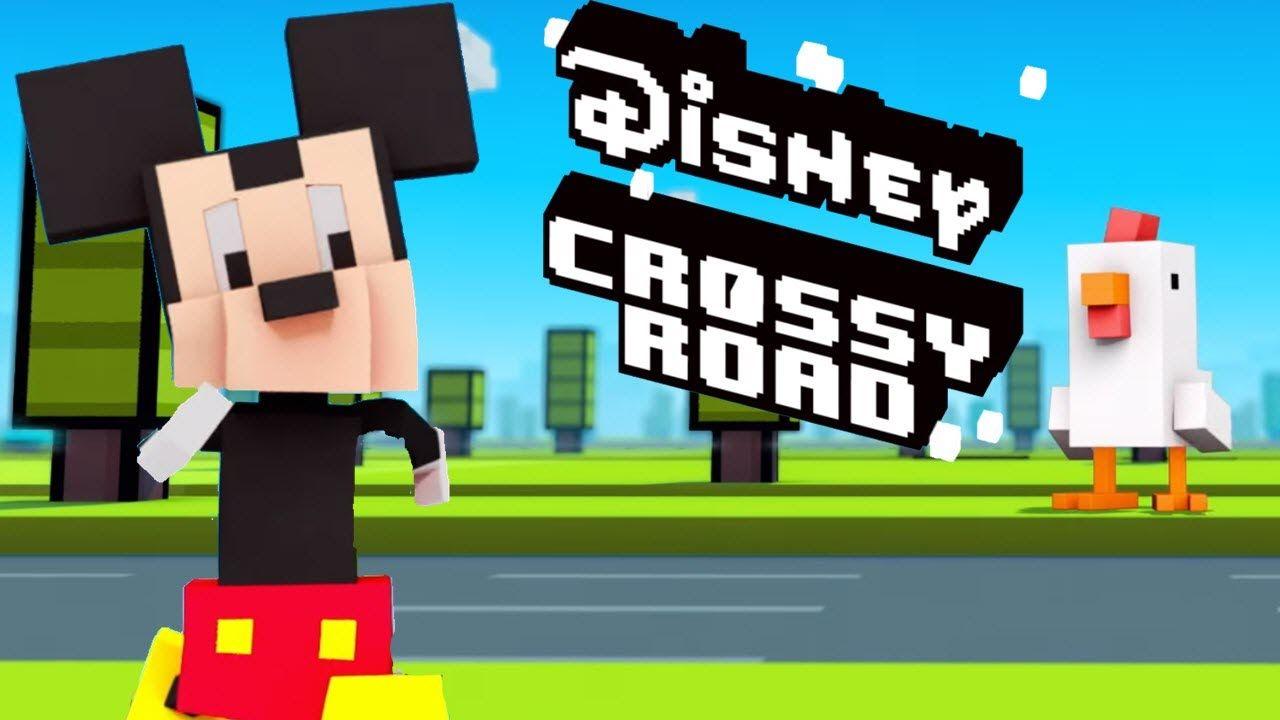 لعبة Disney Crossy Road V 1 101 7191 مهكرة للاندرويد اخر اصدار Crossy Road Disney Magic Kingdom Secret Characters