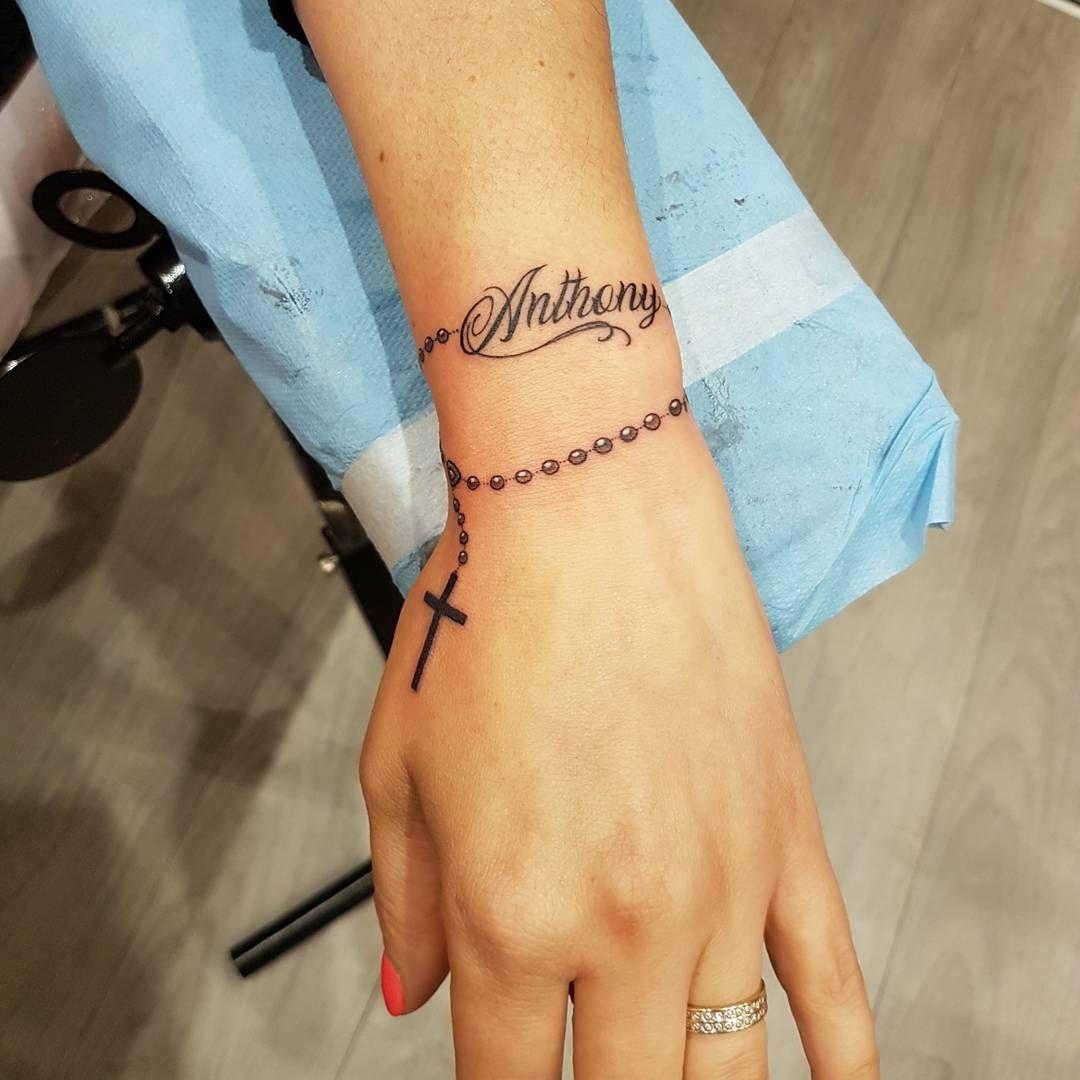 """Say - tattooer �� on Instagram: """"Big merci à Paula! � #tattoo #tatouage #tattooart #inked #rosary #rosarytattoo #chapelet #chapelettattoo #paristattoo #bbtattoostudio"""""""