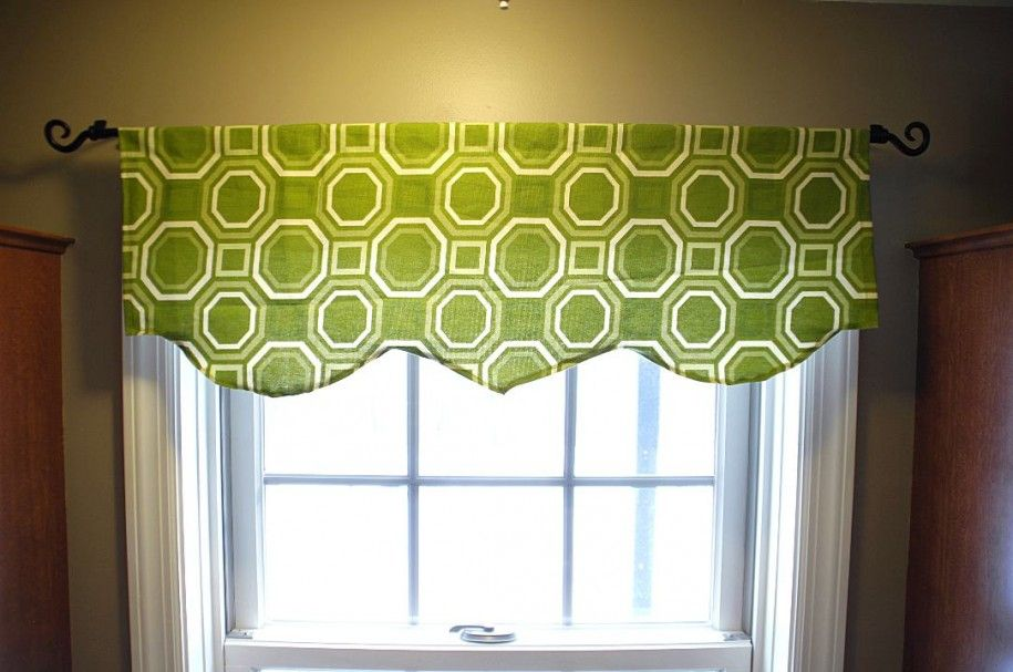 Resemblance Of Contemporary Window Valances Updating Your Interior