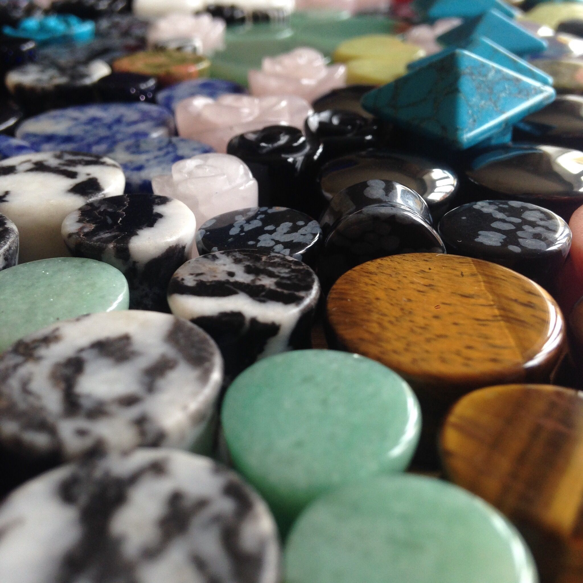 30% off all stone plugs at www.justeros.com/ #plugs #tunnels #gauges use code: stone30