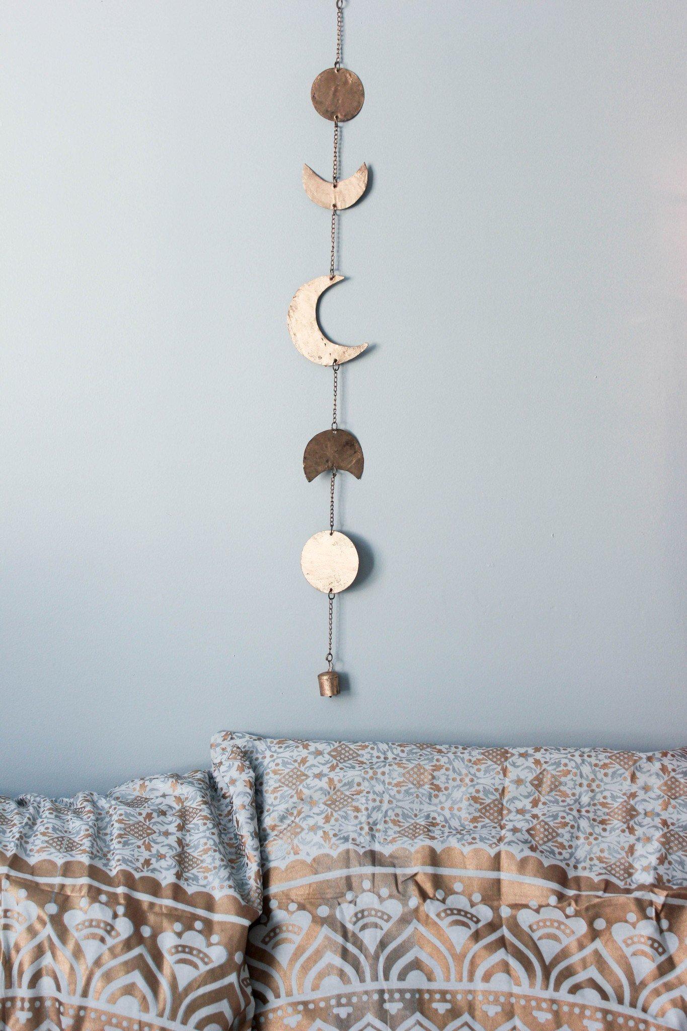 Moon Phases Wall Hanging Decor Interer Dekor Idei