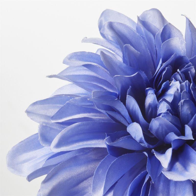 Blue Dahlia Flower Stem Reviews Crate And Barrel In 2020 Dahlia Flower Blue Dahlia Daffodil Flower