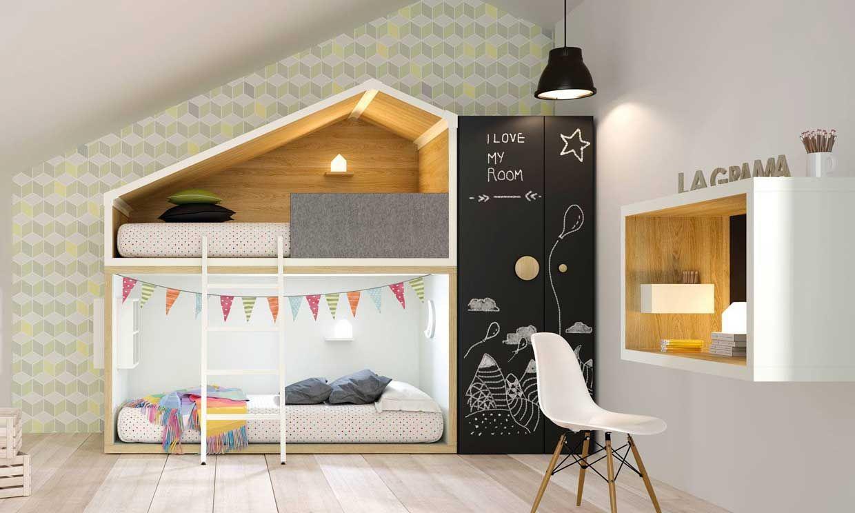C mo dise ar una habitaci n juvenil a la medida de sus for Disenar habitacion juvenil online