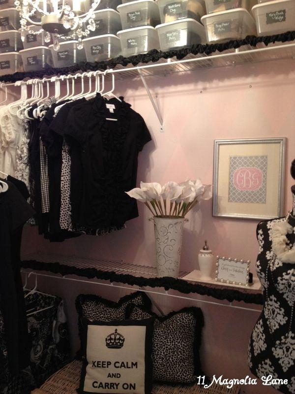 Elegant Closets organized and elegant closet redo at | the closet, magnolias and