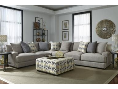 Barton Sectional Armless Chair Free Grey Couch Decor Sectional