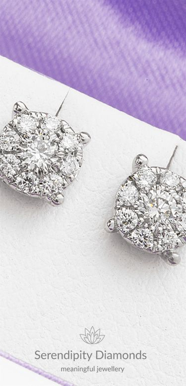 Diamond Solitaire Effect Cer Earrings Set With Exceptional Natural Diamonds The Full Dazzling Display