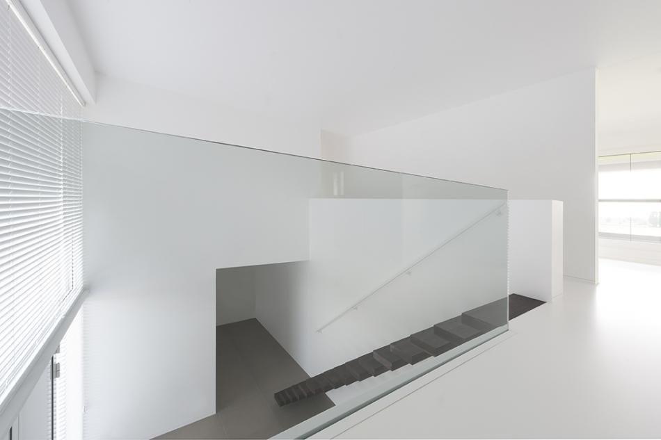 V. rumbeke topglass interieur modern in 2018 trap overloop