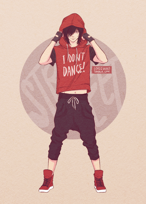 Dance Majors Au Hip Hop Dancer Keith Anime Pictures That I Like