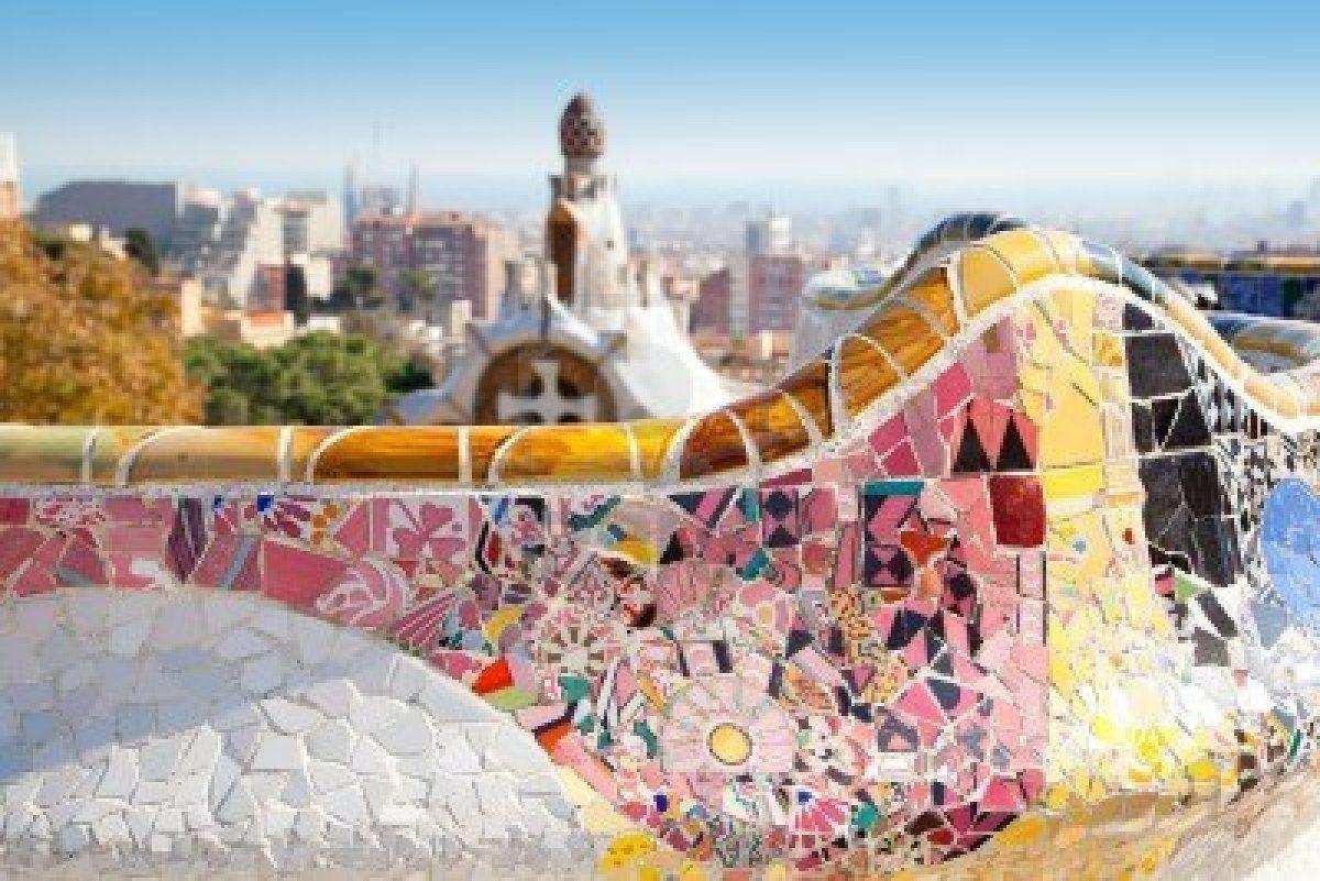 Resultados de la Búsqueda de imágenes de Google de http://us.123rf.com/400wm/400/400/tonobalaguer/tonobalaguer1205/tonobalaguer120500568/13873123-barcelona-parque-g-ell-de-gaudi-modernidad-mosaico-de-azulejos-banco-de-serpentina.jpg