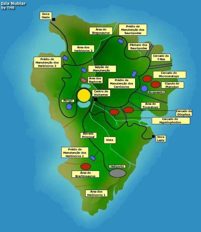 Jurassic World Map Pdf. Filme Isla Nublar 04 jpg  662 764 from https sites google com
