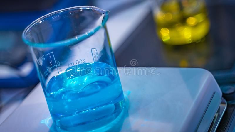 Blue Solution In Glass Beaker Scientific Instruments For Research Industrial A Sponsored Glass Beaker Blue Solution Scien Beaker Glass Solutions