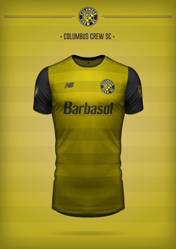 MLS by New Balance®  Proposal  on Behance Playeras De Futbol 1a557f7b9b597