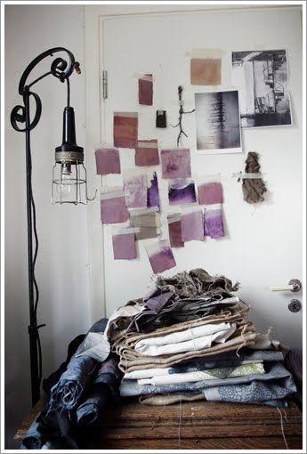 studio inspiration wall