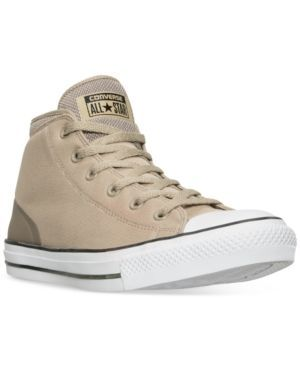 6165613a143e72 Converse Mens Chuck Taylor All Star Syde Street Casual Sneakers from Finish  Line - Tan Beige 11.5
