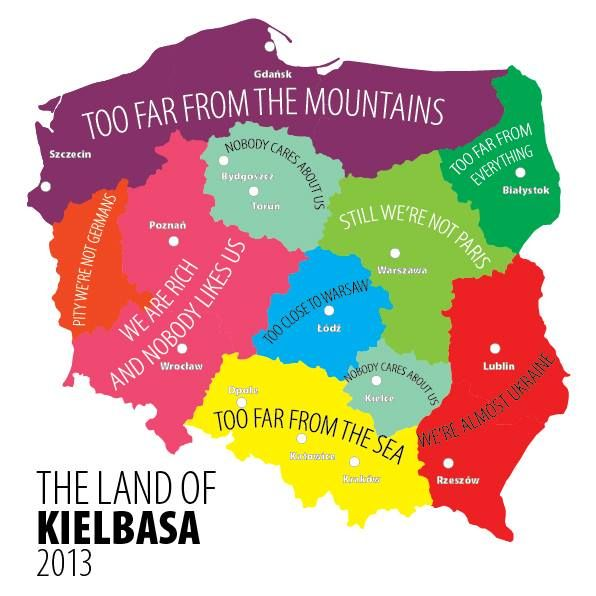 Poland Come And Complain Humor Pinterest Poland Poland - Poland us map