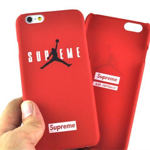 online store 6da20 f5fba Supreme X AirJordan plastic iPhone6/6s Plus iPhone 7/7 Plus case ...