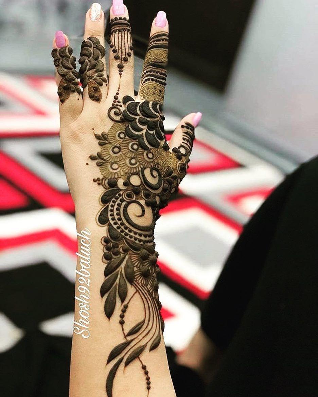 Instagram Post By حنايه قطر 55383520 ٥٥٣٨٣٥٢٠ Apr 8 2019 At 2 12pm Utc Khafif Mehndi Design Mehndi Designs For Hands Mehndi Designs