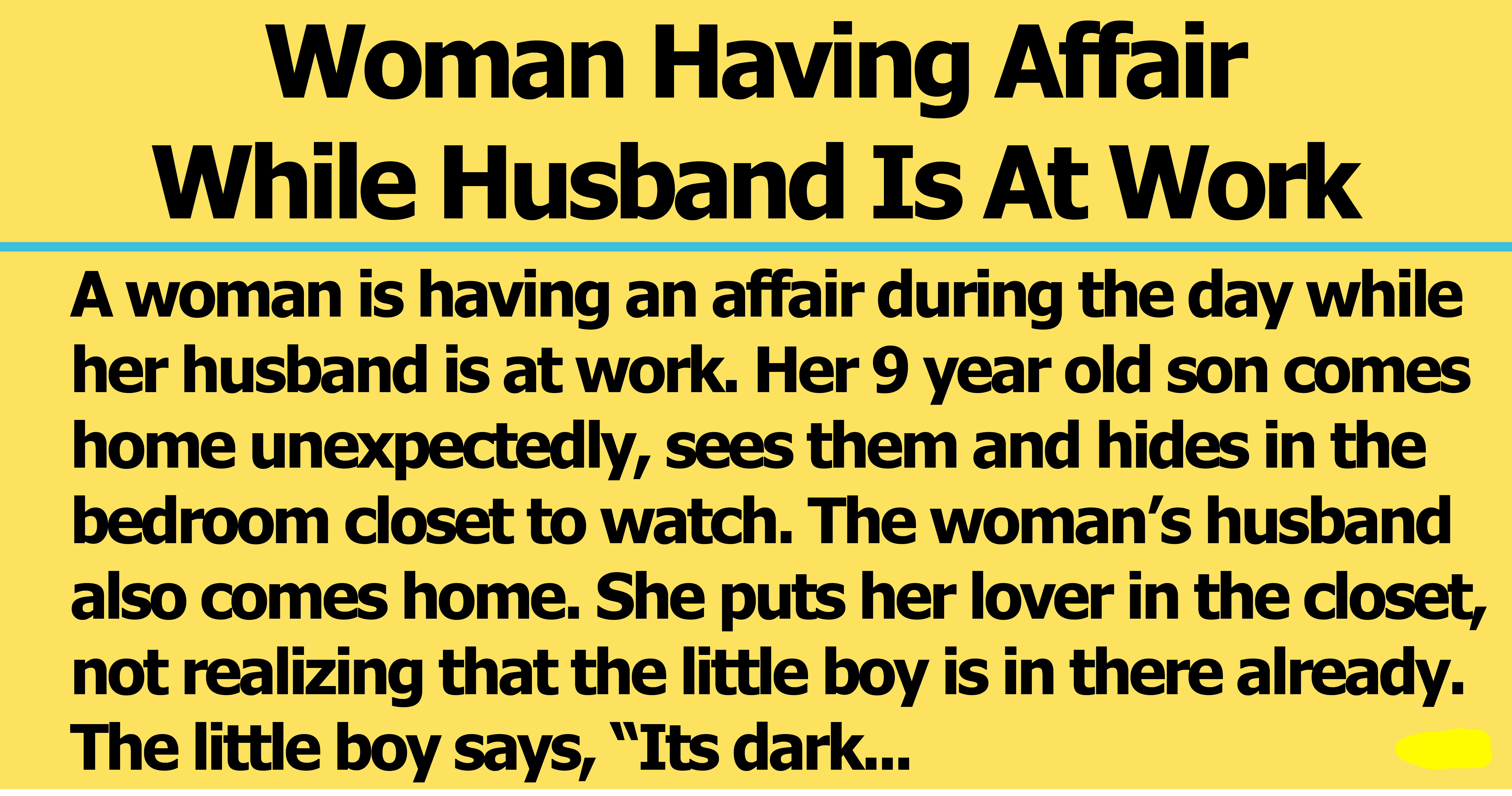 when your husband has an affair