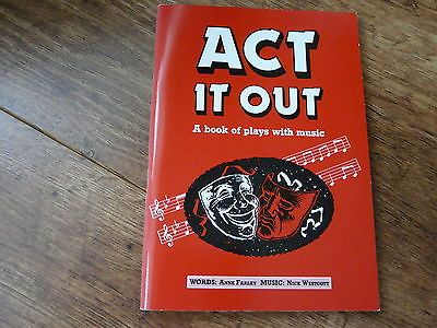 Act it out- a book of plays with #music:words #-anne farley: #music : nick #westco,  View more on the LINK: http://www.zeppy.io/product/gb/2/222066742093/
