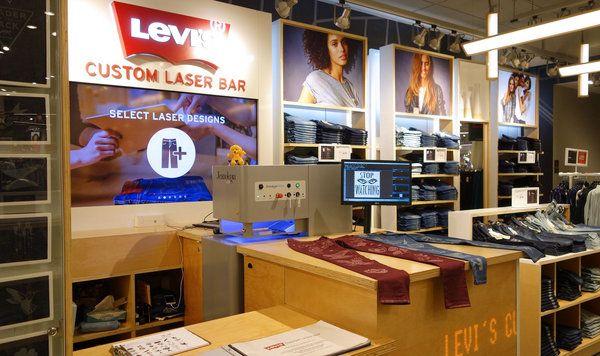 Risultati immagini per levi's laser