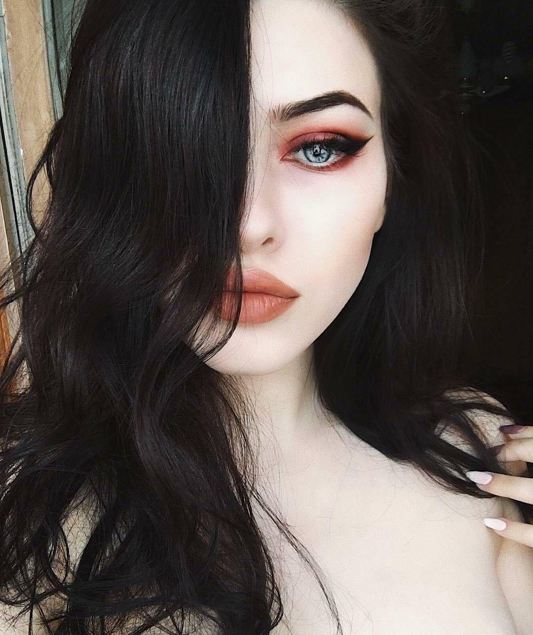 Hair brunette pale skin dark for 2019 | Pale skin hair