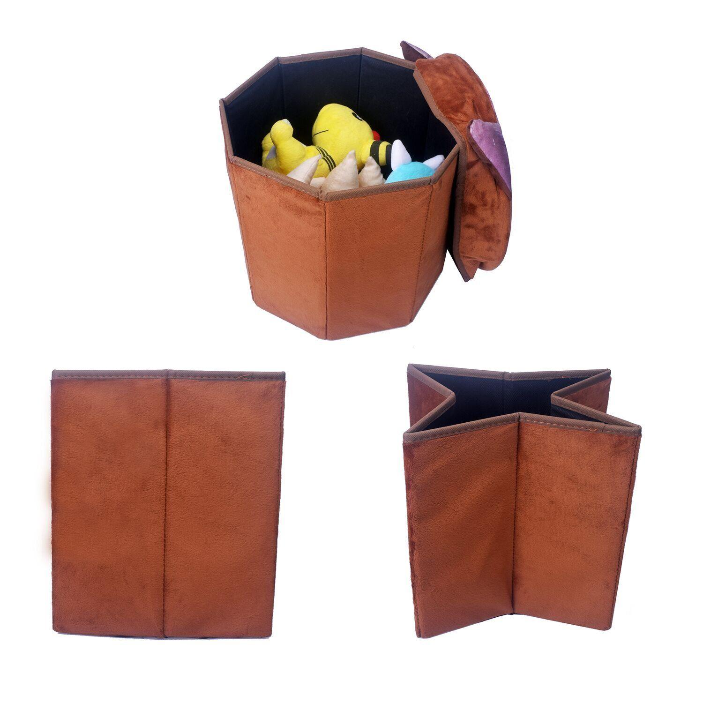 Astounding Smylls Folding Organizer Storage Ottoman Bench Footrest Machost Co Dining Chair Design Ideas Machostcouk