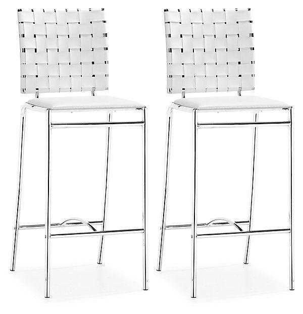 Swell White Criss Cross Counter Chairs Pair Grab Some Chairs Inzonedesignstudio Interior Chair Design Inzonedesignstudiocom