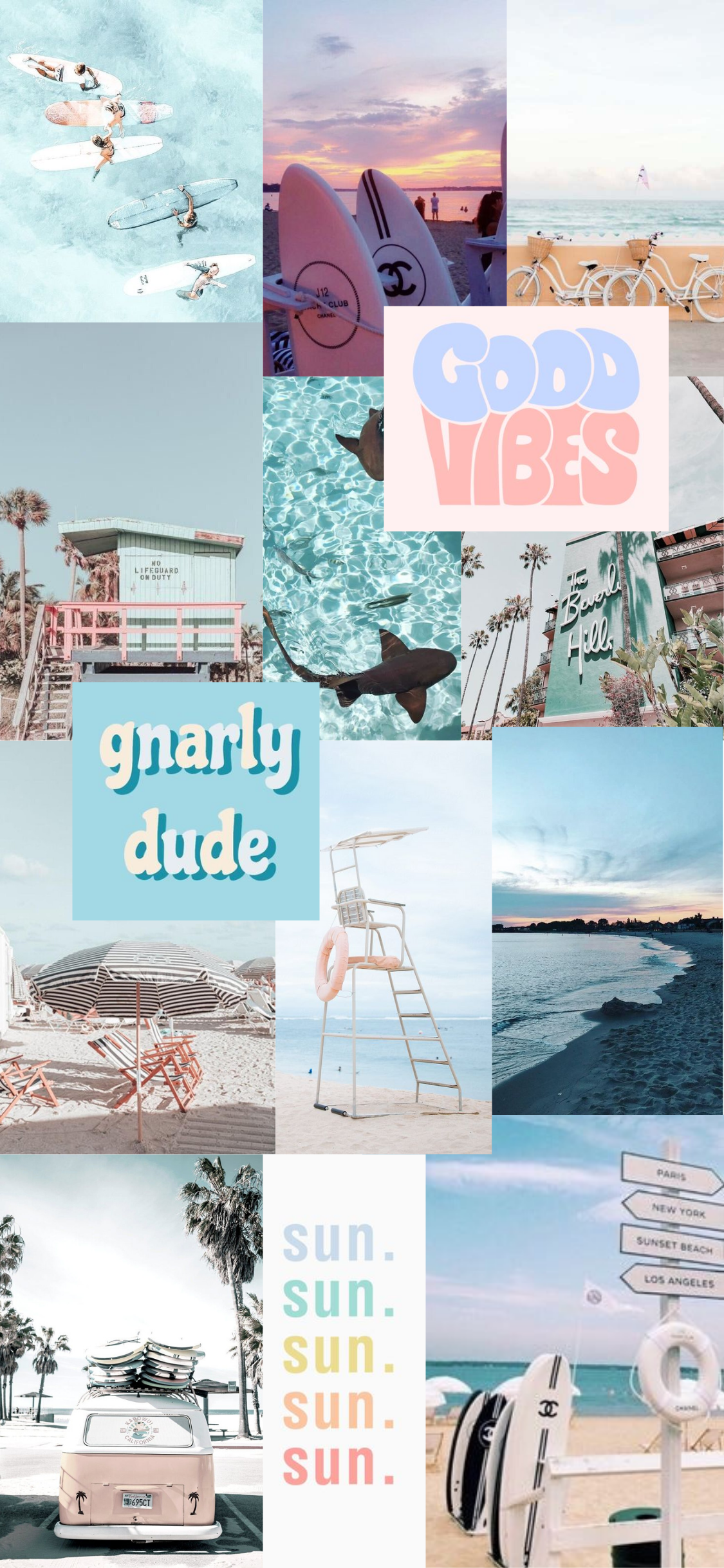 beach aesthetic wallpaper