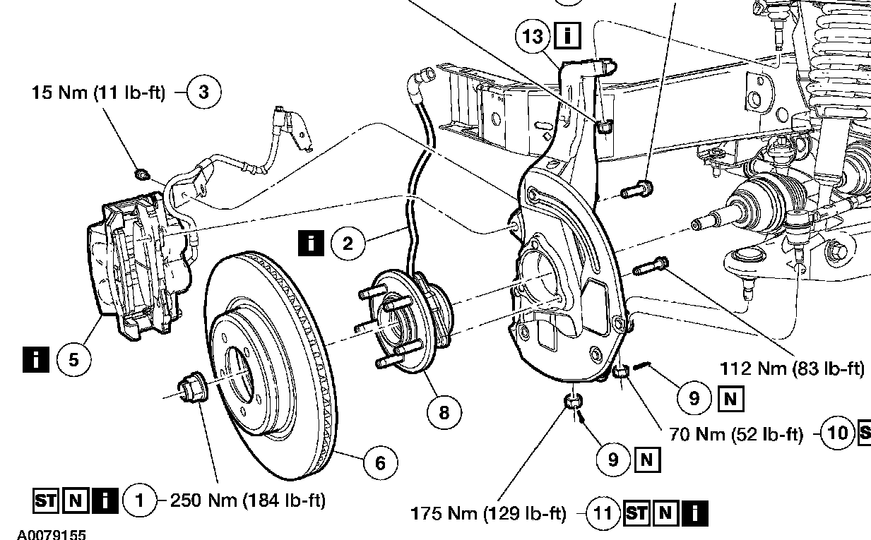 how does a car wheel hub connect diagram - Google Search | car build ...