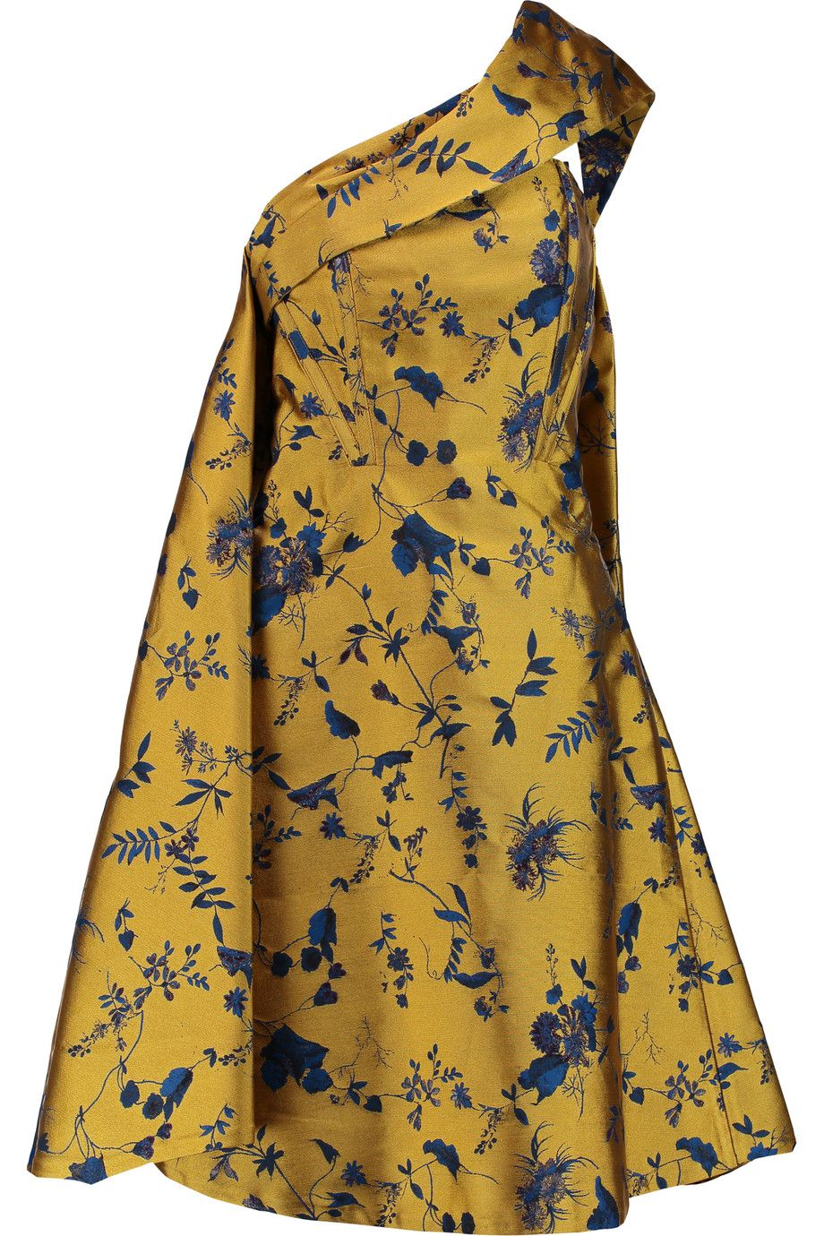c21a9514503b ERDEM Tippi One-Shoulder Jacquard Dress.  erdem  cloth  dress ...
