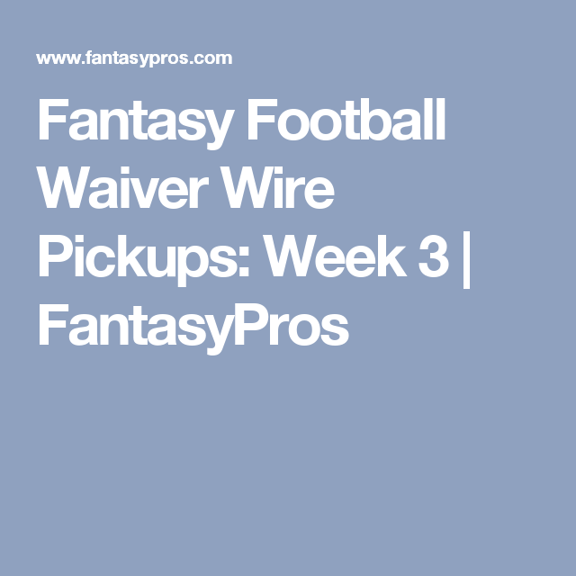 Week 8 Waiver Wire Pickups Fantasy Football 2016 - Top 60 waiver ...