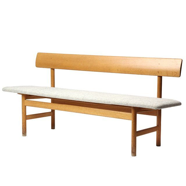 Børge Mogensen Shaker-style bench from the 1950s, price upon request For information: wyeth.nyc
