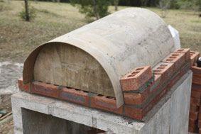 fabriquer un four pizza d co four pizza bois four a. Black Bedroom Furniture Sets. Home Design Ideas