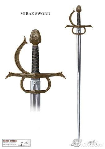 Miraz's Sword--looks evil, doesn't it?!