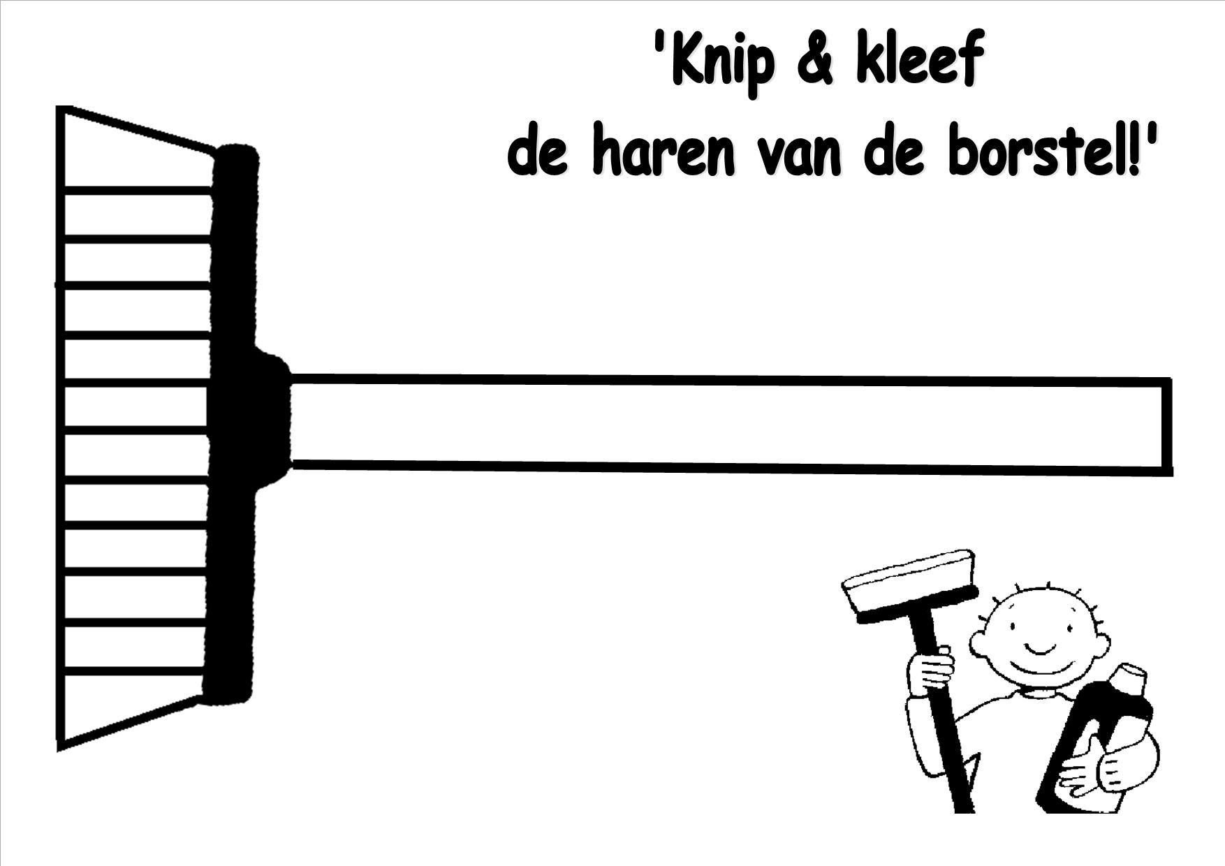 Pin Van Wig Janssens Op Thema Poetsen Lenteschoonmaak Borstels Thema