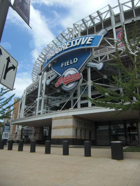 Progressive Field   Home of the Cleveland Indians   Cleveland, Ohio  personal photo