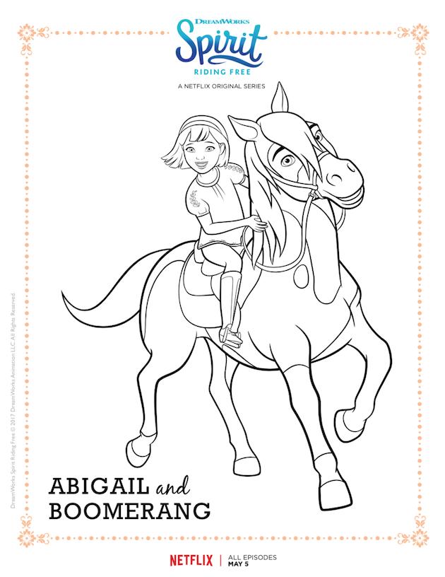 Spirit Riding Free Printable Coloring Sheet Horse Coloring Pages Free Coloring Pages Horse Coloring