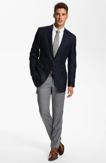 J.P. Tilford Samuelsohn Blazer, Gitman Dress Shirt & BOSS Black ...