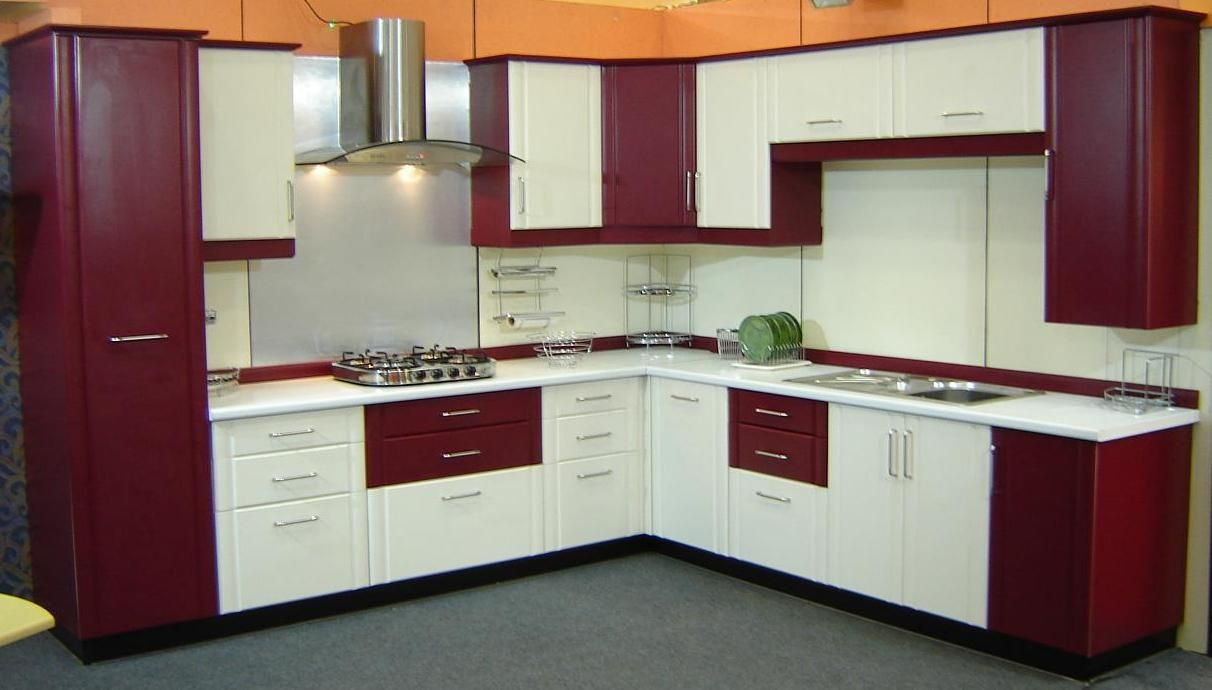 length 250 × 187 wood type Indocons Branded Modular Kitchen. Range ...